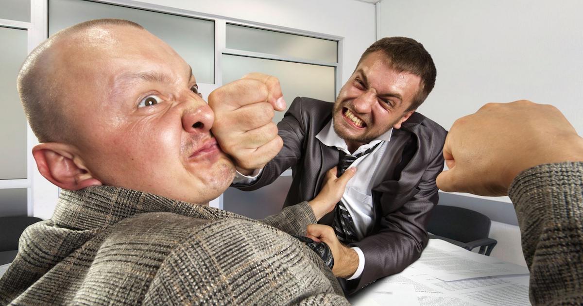 Kontorsinredningen får oss att bråka