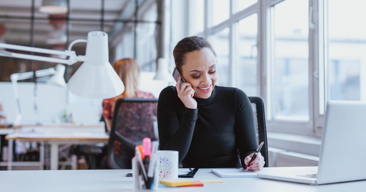 Telefonsamtal kan vara ett arbetsmiljöproblem